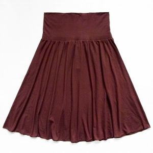 """NWT Stretch Swing Skirt Size Small (26"""" x 24.5"""")"""